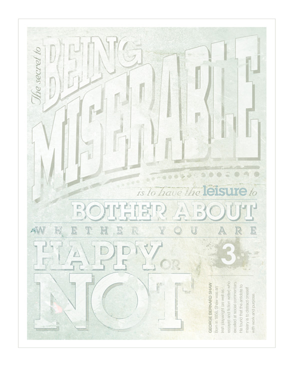 Kaleb Shad - Typography Posters